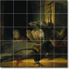 Rembrandt Birds Tile Wall Dining Mural Room Decor Floor Decor