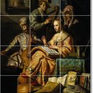Rembrandt Indians Living Floor Room Mural Ideas Home Decorating