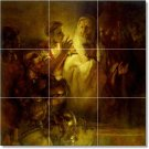 Rembrandt Religious Tiles Room Wall Dining House Ideas Renovate
