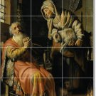 Rembrandt People Backsplash Mural Tile Kitchen Art Residential