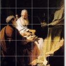 Rembrandt People Mural Shower Tile Interior Renovations Design