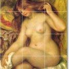 Renoir Nudes Mural Tile Backsplash Kitchen Design Floor Modern