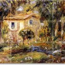 Renoir Country Dining Tile Room Mural Ideas Decorating Interior
