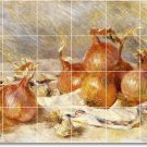 Renoir Fruit Vegetables Backsplash Wall Wall Murals Modern Decor