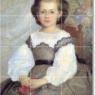 Renoir Women Shower Wall Tiles Mural Home Renovate Traditional