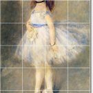 Renoir Dancers Wall Tiles Backsplash Renovation Interior Design