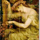 Rossetti Women Mural Tile Shower Bathroom Renovations Home Idea