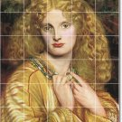 Rossetti Women Tile Shower Mural Bathroom House Renovate Design