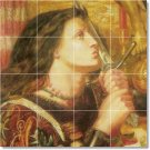 Rossetti Historical Room Tile Wall Murals Dining Decor Interior