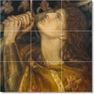 Rossetti Historical Living Tiles Wall Room Mural Design Remodel