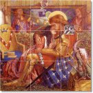 Rossetti Mythology Room Mural Wall Commercial Remodeling Ideas
