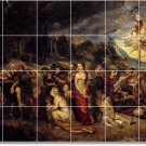 Rubens Religious Tile Murals Room Idea Renovations Home Design