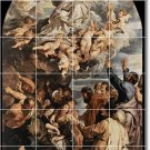 Rubens Religious Murals Tile Room Idea Design Home Renovations