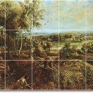 Rubens Landscapes Mural Living Room Wall Ideas Renovations Home