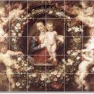 Rubens Religious Shower Wall Tiles Bathroom Home Ideas Remodel