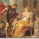 Rubens Mythology Shower Tiles Bathroom Wall Remodel Home Ideas