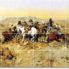 Russell Western Murals Wall Wall Room Dining Home Remodel Art