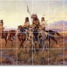 Russell Indians Dining Mural Room Floor House Decorating Idea