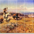 Russell Indians Dining Mural Floor Room House Idea Decorating