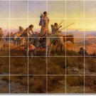 Russell Indians Room Dining Floor Mural Decorating House Idea