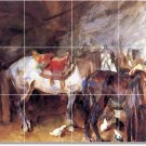 Sargent Horses Dining Room Tiles Floor Home Remodel Traditional