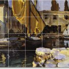 Sargent Waterfront Room Tiles Mural Ideas Renovate Residential