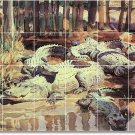 Sargent Animals Tile Wall Backsplash House Renovations Modern