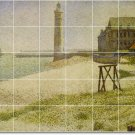 Seurat Waterfront Murals Shower Wall Tile House Renovate Modern