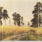 Shishkin Landscapes Kitchen Tiles Mural Floor Home Modern Decor