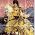 Stewart Women Mural Wall Tiles Room Mural Idea Home Decorating