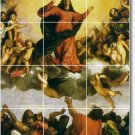 Titian Religious Room Tile Floor Interior Decorate Traditional