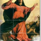 Titian Religious Floor Room Tile Decorate Traditional Interior