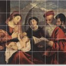 Titian Mother Child Mural Tiles Kitchen Floor House Decor Decor