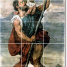 Titian Religious Room Mural Tiles Wall Renovations Modern Home