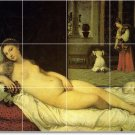 Titian Nudes Wall Mural Living Tiles Room Modern Home Renovate