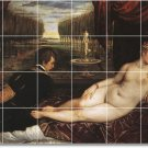 Titian Nudes Wall Mural Room Living Tiles Modern Renovate Home