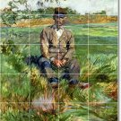 Toulouse-Lautrec Country Room Tile Renovate House Ideas