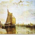 Turner Ships Wall Mural Room Tiles Living Home Modern Renovate