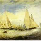 Turner Ships Wall Mural Tiles Living Room Home Renovate Modern