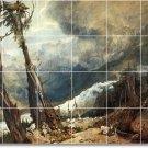 Turner Landscapes Backsplash Kitchen Tile Mural Decor Decor House