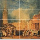 Turner Village Mural Wall Tiles Room Mural Idea Home Decorating