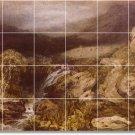 Turner Landscapes Shower Tile Wall Bathroom Modern Decor Interior