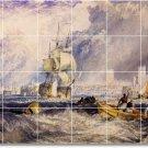 Turner Ships Wall Tiles Living Room Mural Renovate Home Modern