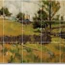 Twachtman Country Tiles Mural Room Living Interior Ideas Renovate