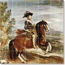 Velazquez Horses Wall Tile Bedroom Murals Decor Decor Interior