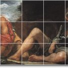 Velazquez Mythology Mural Tiles Bedroom Floor Design Home Decor