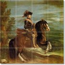 Velazquez Horses Murals Kitchen Floor Wall Remodel House Decor