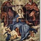 Velazquez Religious Mural Tiles Floor Bedroom Design Decor Home