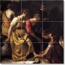 Vermeer Women Room Tile Dining Wall Mural Residential Renovate