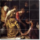 Vermeer Women Room Tile Dining Mural Wall Renovate Residential